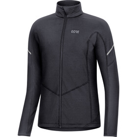 GORE WEAR M Thermo Langarm Zip Shirt Damen black